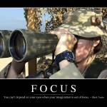 """""""Focus: Inspirational Quote and Motivational Poster"""" by stocktrekimages"""