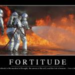 """Fortitude: Inspirational Quote and Motivational Po"" by stocktrekimages"