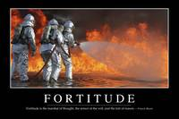 Fortitude: Inspirational Quote and Motivational Po