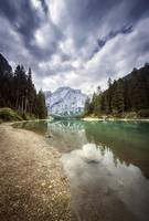 Lake Braies and Dolomite Alps, Northern Italy