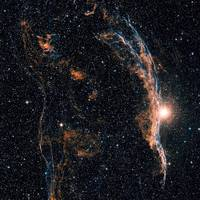The Witchs Broom Nebula NGC 6960 and part of the V