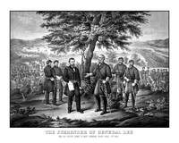 The surrender of General Robert E. Lee to General