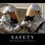 """Safety: Inspirational Quote and Motivational Poste"" by stocktrekimages"