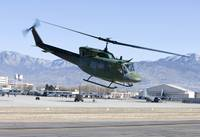 A UH-1N Twin Huey near Kirtland Air Force Base, Ne
