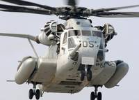 A US Marine Corps CH53E Super Stallion