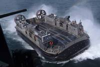Landing Craft Air Cushion hovercraft