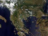 Greece and its surrounding countries