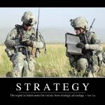 """Strategy: Inspirational Quote and Motivational Pos"" by stocktrekimages"