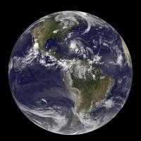 August 24, 2011 - Satellite view of the Full Earth