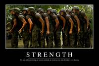Strength: Inspirational Quote and Motivational Pos