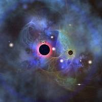 Beautiful stars, black holes and nebulae
