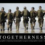 """Togetherness: Inspirational Quote and Motivational"" by stocktrekimages"