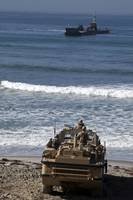 Marines anticipate the arrival of an Improved Navy