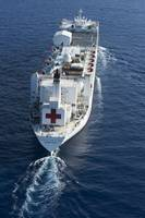 The Military Sealift Command hospital ship USNS Co
