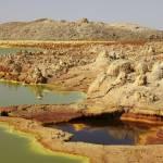 """Potassium salt deposits, Dallol geothermal area, D"" by stocktrekimages"