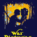"""Vintage World War I poster of a soldier filming a"" by stocktrekimages"
