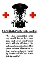 Vintage World War I poster of General John Pershin