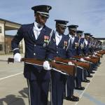 """The United States Air Force Honor Guard Drill Team"" by stocktrekimages"