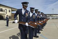 The United States Air Force Honor Guard Drill Team