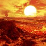 """""""Kepler 10b is the first extrasolar planet discover"""" by stocktrekimages"""