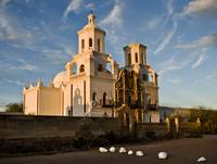 San Xavier at Sunset