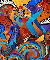 Jazz Musicians Art Music Decor