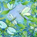 """Dragonfly Garden"" by JuleezArt"