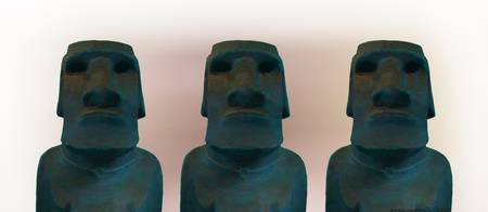 The Blue Men Three