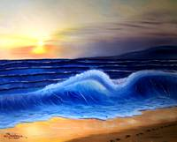 Seascape Wave - Landscape