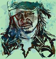 T-pain Faheem Rasheed Najm Stylised Etching Pop Ar