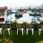 """Rockport Chairs in oil"" by sandy"