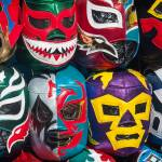 """Mexican Wrestler Masks"" by sandy"