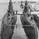 """Submarines at Port"" by RetroImagesArchive"