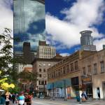 """Minneapolis Skyline Photography Nicollet Mall"" by WaynePhotoGuy"