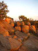Sunset at Enchanted Rock