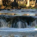 """Waterfall II on Cypress Creek, Wimberley, Tx"" by MarksClickArt"