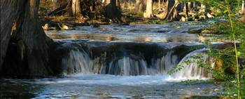 Waterfall II on Cypress Creek, Wimberley, Tx
