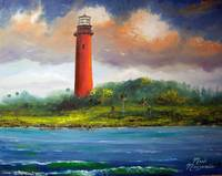 Jupiter Florida Lighthouse Painting
