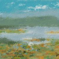 Long John  Slough, Willow Springs, IL Painted onsi Art Prints & Posters by Amy Larsen
