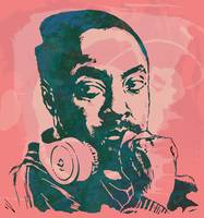 Will.I.A - Stylised Etching Pop Art Poster
