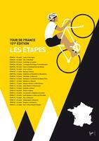 MY TOUR DE FRANCE MINIMAL POSTER 2014-ETAPES