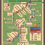 """Pittsburgh LRT T Map"" by originaldave77"