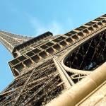 """""""Corner of Eiffel Tower in Paris"""" by DonnaCorless"""