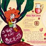 """Three Ways to Eat Beets by Holly Gardner"" by TheyDrawandCook"