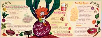 Three Ways to Eat Beets by Holly Gardner