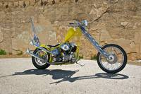 Yellow Retro Chopper V
