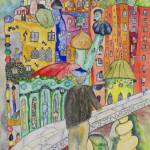 """""""Looking at the town where I would like to live"""" by gheider"""