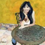 """""""Waiting Lady"""" by DavidRalph"""