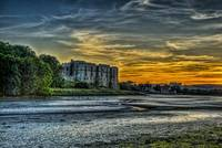 Carew Castle Sunset