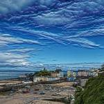 """Tenby Harbour with Texture"" by StevePurnell"